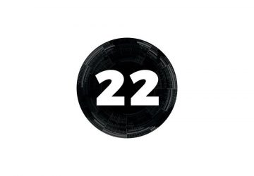 circular image with the number 22 inside